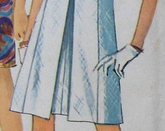 Vintage Dress Sewing Pattern Simplicity 7083 Size 12