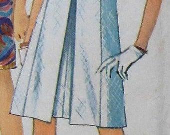 Vintage Dress Sewing Pattern Simplicity 7083 Size 12