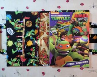 TEENAGE MUTANT NINJA Turtles Take Everywhere Coloring Book