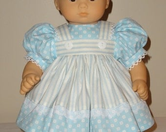 Dress, Headband for 15 inch Bitty Baby doll