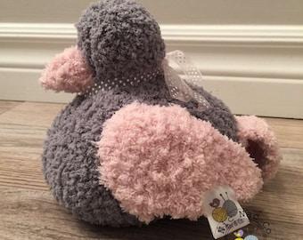 Doudou bird plush