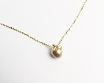 Teacher Apple Necklace
