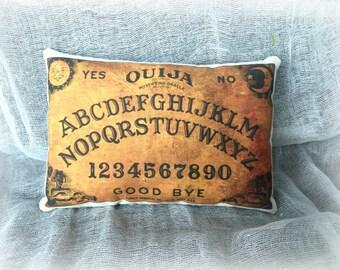 Ouija Board Pillow | Ouija board print | Halloween Pillow | Halloween decor | Halloween decoration | Mystical Pillow | Magic Board