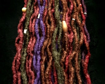 15DE Crocheted Dread Extensions -- Free Shipping!!