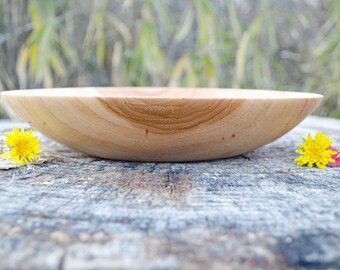 Wood Bowl, Simply Southern Pecan, Fruit Bowl, Serving Bowl,  hand turned
