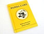Panda Cake by Rosalie Seidler 1978 Hc / Vintage Childrens Book
