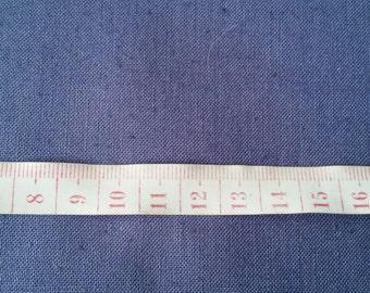 2.72m Forget Me Not Blue Heavy Cotton