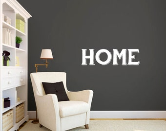 Home - Entryway Family and Living Room Wall Decals