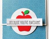 Teacher gift card holder-Teacher Gifts,Teacher Appreciation gift,Gifts for teachers,Personalized teacher gift,Money Envelope,Money Holder
