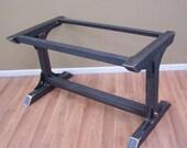 Custom steel table base for Kelly