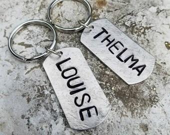 Thelma & Louise keychain set