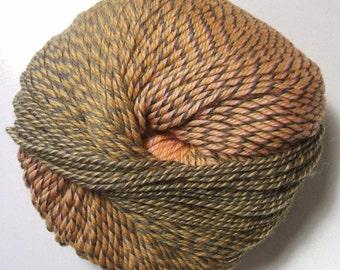 Knitting Fever Painted Sky Yarn #222 Gold Finding Superwash Wool Self Striping