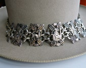 Peru Silver Linked Bracelet