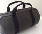 Custom Dark Olive Duffle Bag