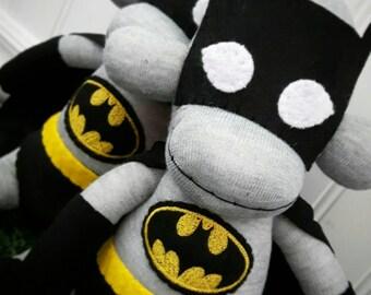 Superhero Sock Monkey