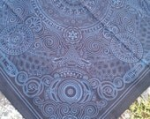 Arcana Bandana - Black and Teal