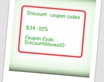 Discount Coupon Codes. Not For Sale