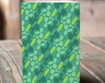 A6 Cactus Pattern - Notebook / Sketchbook / Journal
