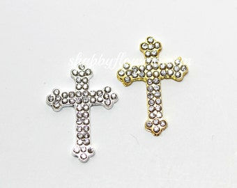 Cross Rhinestone Embellishment, Wholesale Rhinestone Button, cross rhinestone, bow center