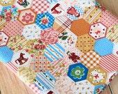 Floral & Cartoon Patchwork pretty flowers cotton fabric quarter