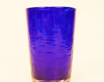 Cobalt Blue Juice Glass