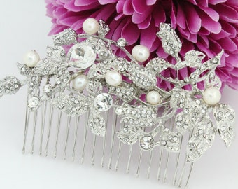 Bridal hair comb Wedding headpiece Bridal hair accessory Wedding hair piece Bridal hair jewelry Wedding hair accessory Bridal comb Wedding