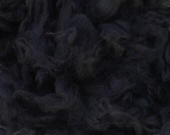 Black Alpaca Fleece