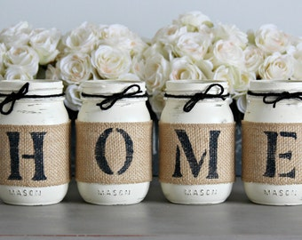 Rustic Home Decor Rustic Table Decor Table Centerpiece Gift  Hostess Housewarming Gift