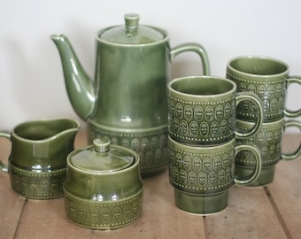 vintage mid century coffee set made in japan
