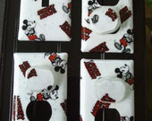 Mickey Mouse Disney Light Switch Plates Outlet Covers or Knobs