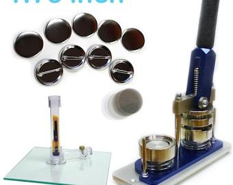 1.75 Inch Button Maker Machine - Professional Starter Kit