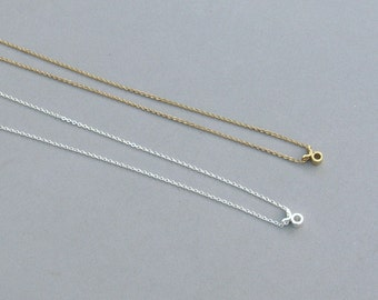 Zodiac Taurus Necklace in Silver Plated or Gold Plated