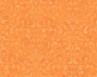 Avlyn Tapestry fabric - light peach - cotton fabric - quilting/sewing/crafts