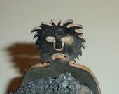 Mister Meteor Man - Metal Figurine, Caveman
