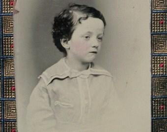 Tintype - Child w/ Wayward Curl