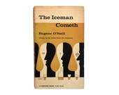 "George Giusti book cover design, c.1960s. ""The Iceman Cometh"" by Eugene O'Neill"