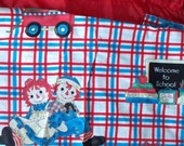 Raggedy Ann and Andy Backpack