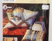 Uncut, Simplicity Home Formal Pillow Sewing Pattern, Shirley Botsford Designs, Conso, 8 different styles
