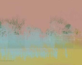 Contemporary  Digital Art Giclee Print A3 A4