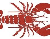 Crawfish Machine Embroidery Design