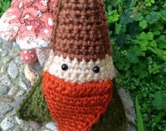 Crochet Amigurumi Forest Gnome