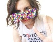 The ORIGINAL Rockstar Sequin Sunglasses - Photo Props - Photobooth - Birthday - Wedding - Holiday - Christmas