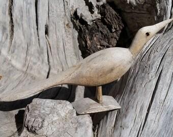 Driftwood Folk Art Bird Sculpture