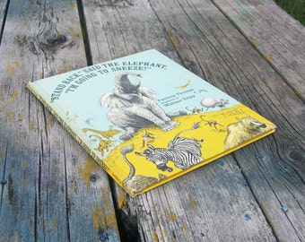 Vintage book Stand Back Said the Elephant I'm Going To Sneeze! by Patricia Thomas 1971