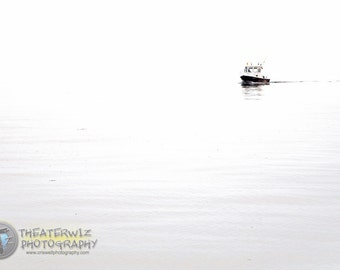Fishing boat Fine Art abstract Print