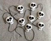 Skull Halloween Garland