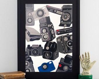 Camera Poster Print