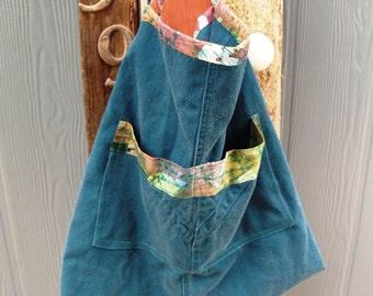 Batik Aqua Shoulder Bag