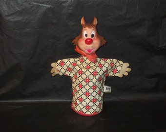 Vintage GUND Harveytoons Harvey KATNIP Hand Puppet
