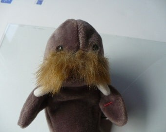 Sea Creatures Plush Walrus, Ocean Sea Toy, Baby Nautical Decor, Beanie Babies
